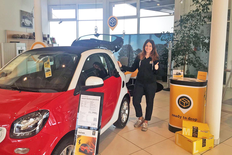 schareinprojekt-event-promotion-aktion-post-smart-fortwo-auto-automotive-autohaus
