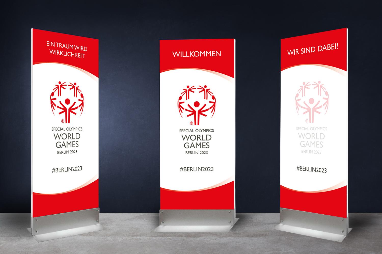 schareinprojekt-special-olmypics-stelen-welcome-grafik-design-gestaltung-berlin-weltspiele-pylon