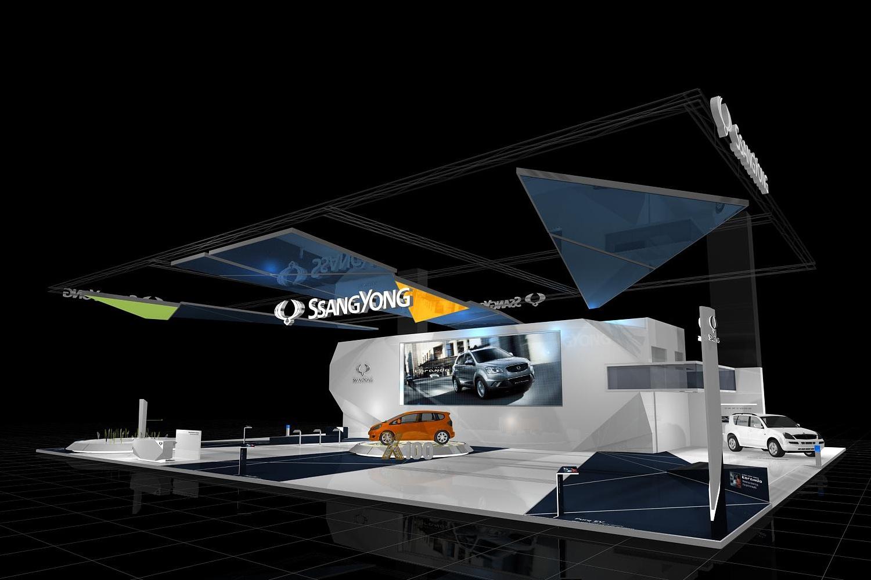 schareinprojekt-messe-messestand-design-gestaltung-grafik-rendering-auto-automotive-ssangyong